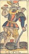 Tarocco di Besançon di J.B.Benois (XVIII secolo) - Il Meneghello, Italia