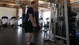tricep extensions w/ cable machine - step 2