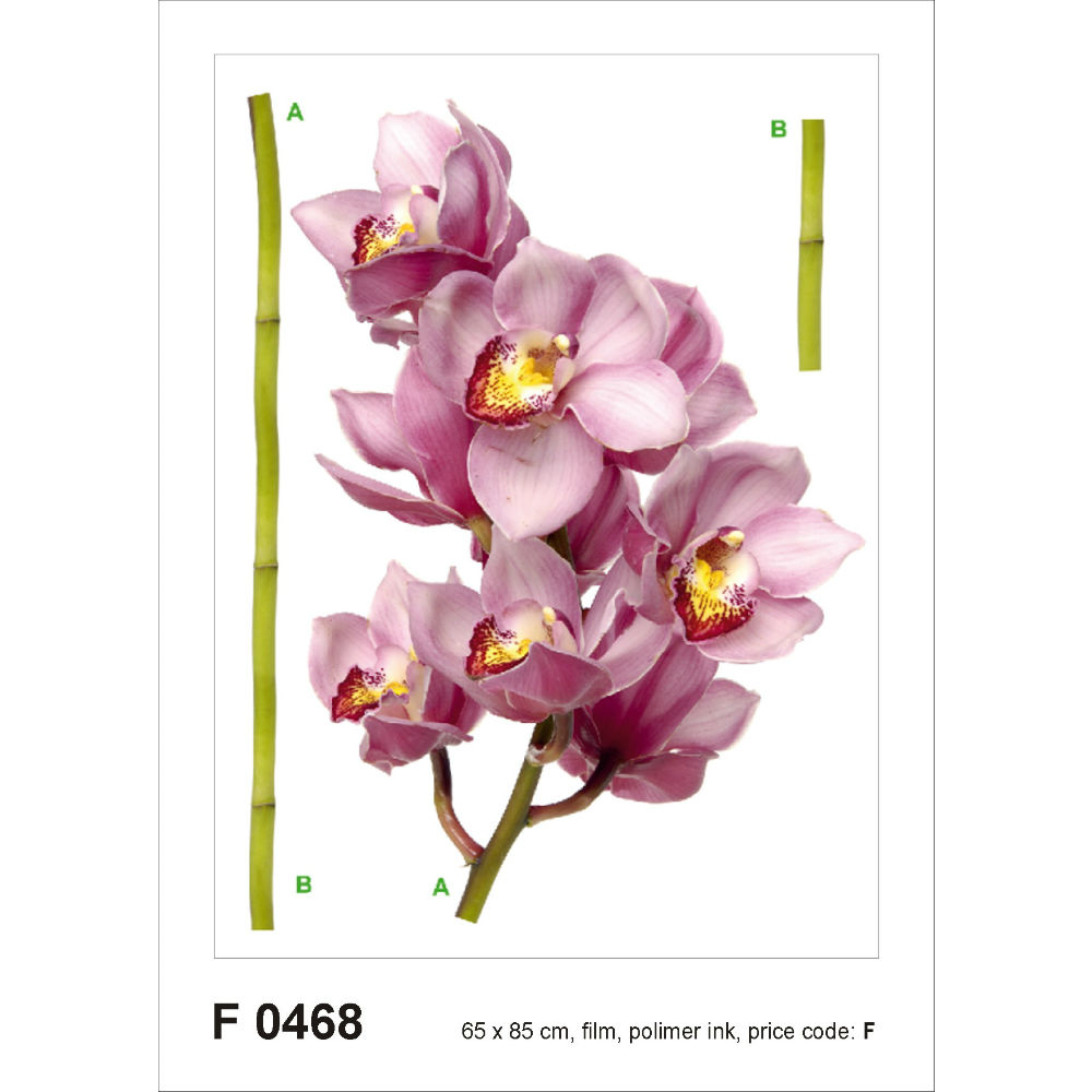 Orchid Wall Sticker