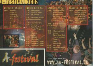 Aa-festival avisen 2002