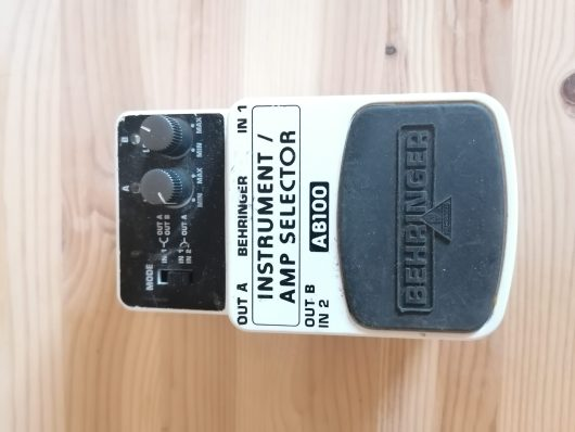 Behringer - Instrument / Amp Selector (AB100) - Pendaal