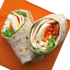 Caesar Chicken Wrap Seoul Food: AirAsia Menu & In-Flight Food Review Toronto Seoulcialite