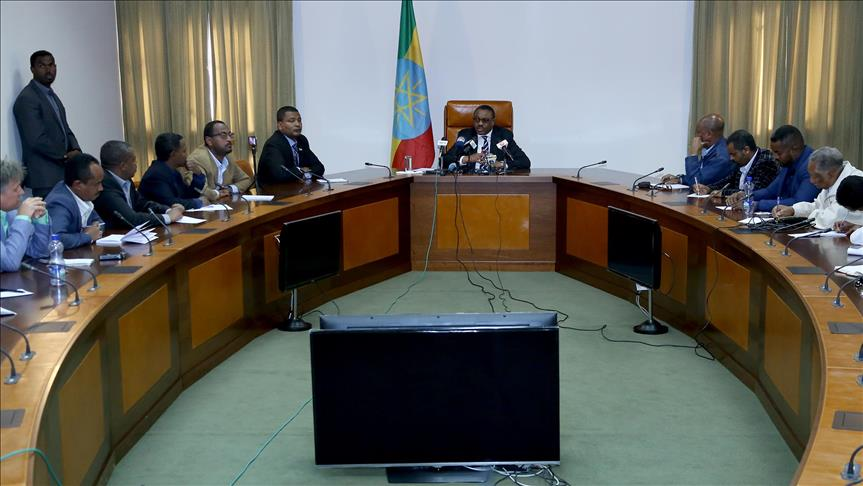 Ethiopian ruling party holds dialogue with opposition