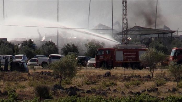 Turkey: Fire in military area injures 10 soldiers
