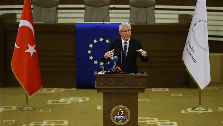 Europe, Turkey need each other says Jagland
