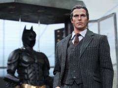 The Dark Knight MMS236 Batman Armory with Bruce Wayne & Alfred Pennyworth 1/6th Scale Collectible Set + $100 BBTS Store Credit Bonus