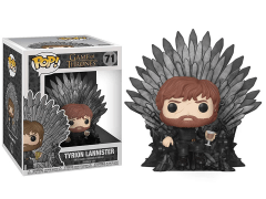 Pop! Deluxe: Game of Thrones - Tyrion Lannister on Iron Throne