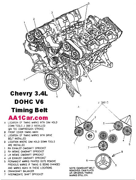 GM Timing Belt & Timing Chain Replacement