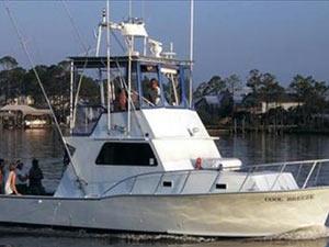 Alabama six passenger charter boat