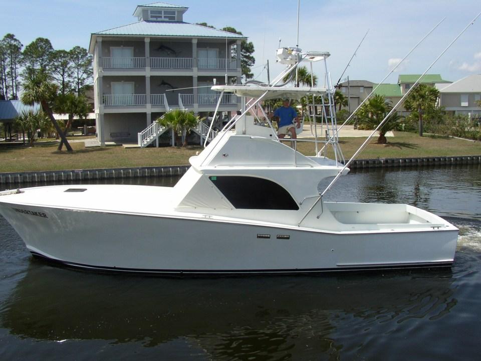Undertaker Six Passenger Alabama Fishing Charter Boat