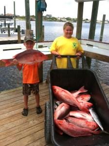 red snapper fishing trip orange beach gulf shores al perdido key fl