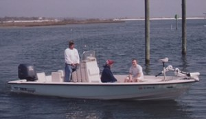 Inshore fishing charter boat in Orange Beach AL