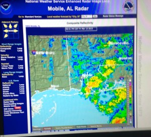 gulf shores al radar Mid March 2015
