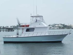 Multi passenger charter boat Legacy 40' Michael Fitz