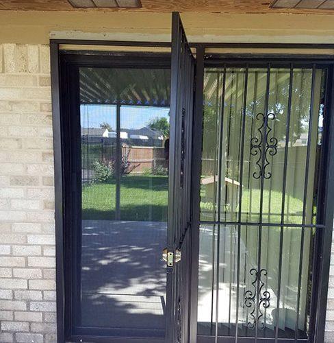 patio door gates aaa custom windows