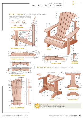 diy rocking chair kit lounge beach free adirondack plans |build adirondak