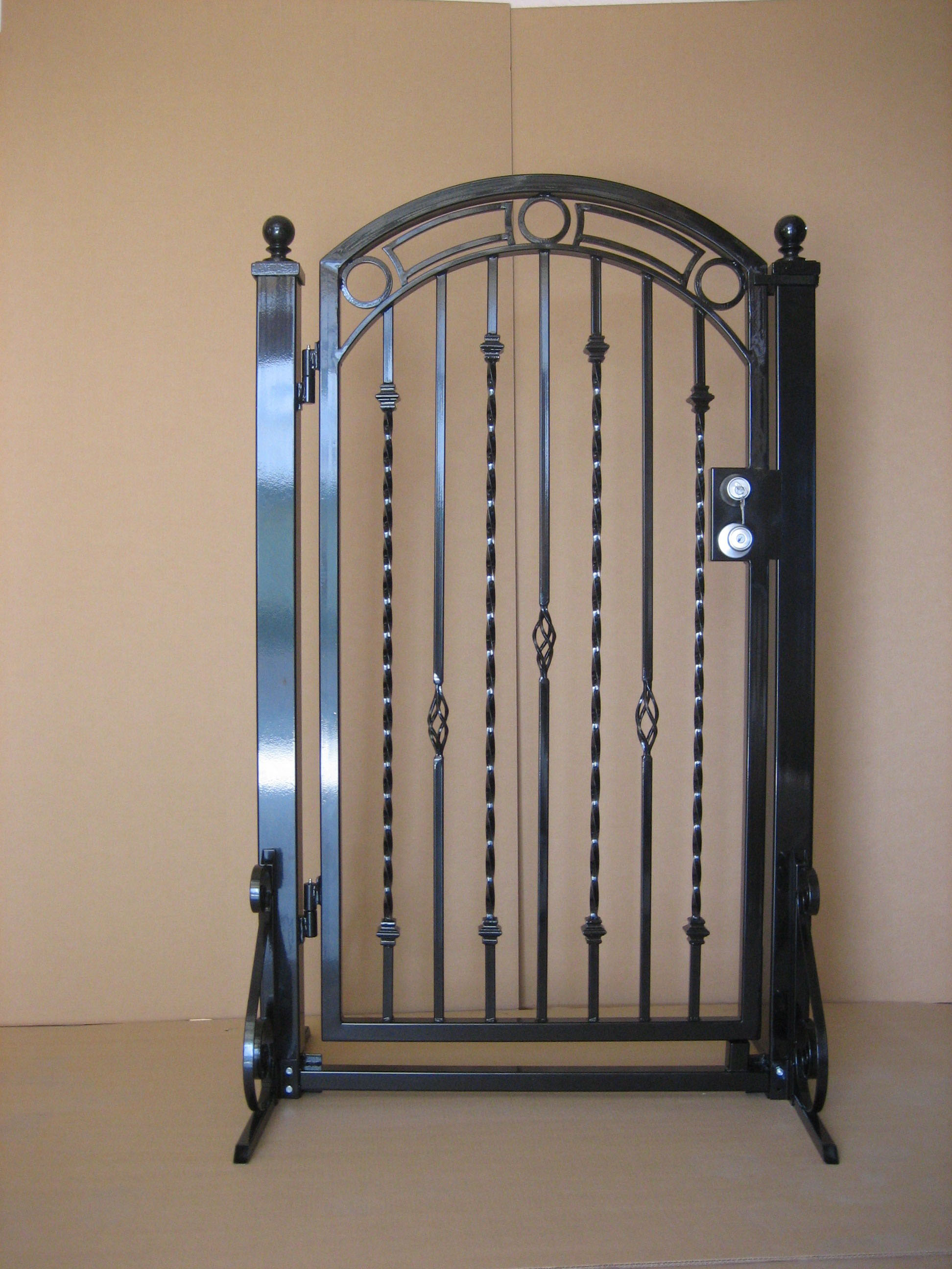 Gate photos wrought iron wood gates aaagate