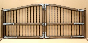 aaa gate installation san diego wood iron gates 003