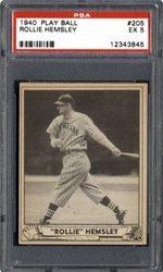Rollie Hemsley Card
