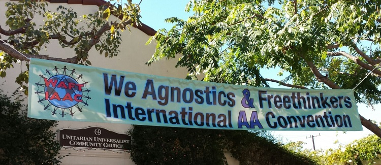 We Agnostics and Atheists AA Convention – Day 1