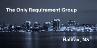 Halifax - The Only Requirement Group