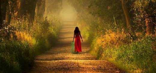 Woman on Path