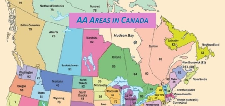AA Areas in Canada