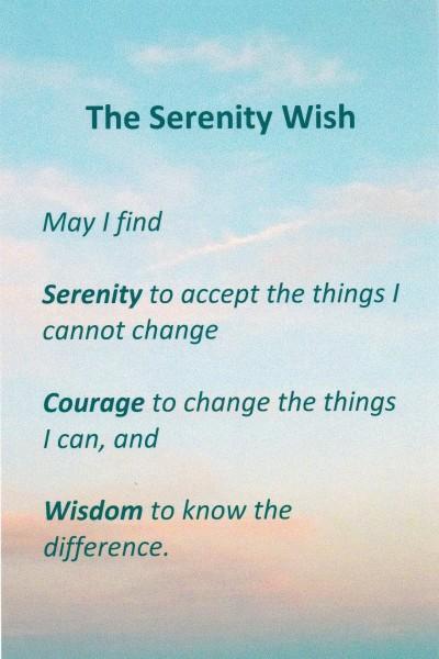 Serenity Wish