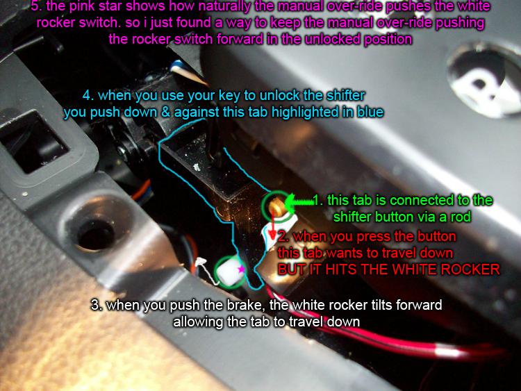 350z Radio Wiring Diagram Diy Brake Shift Interlock Solenoid Fix Nissan Forum