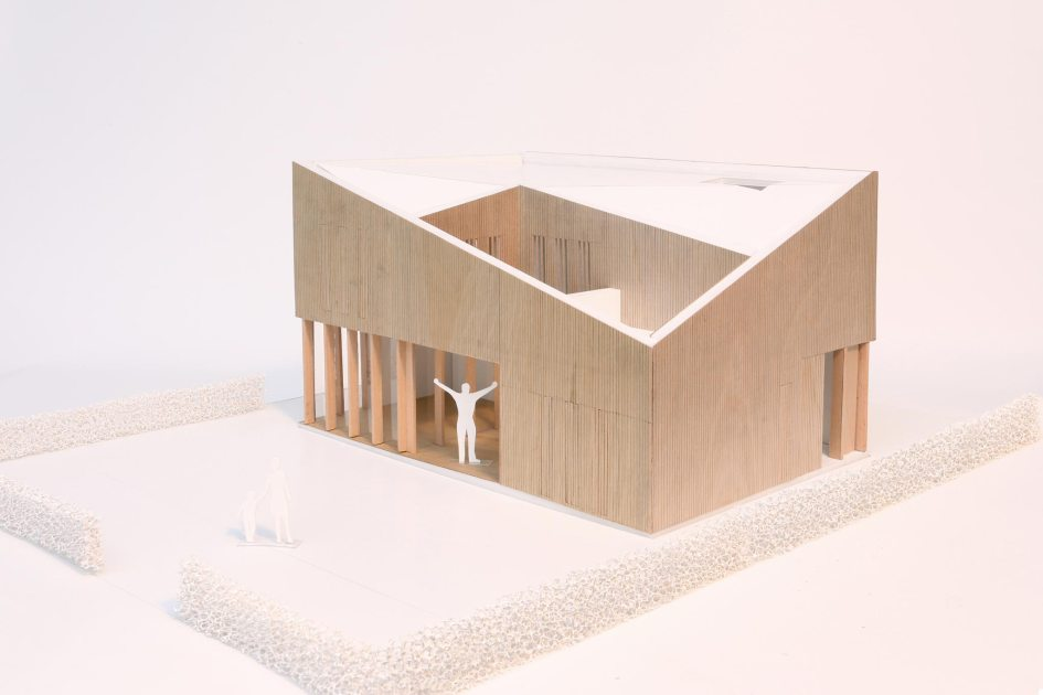 maquette foto woonhuis leonidas
