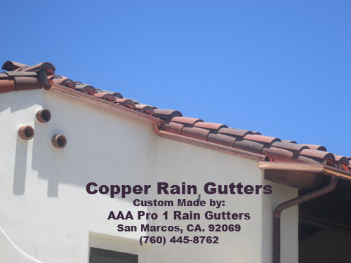 Rain Gutter Selection Guide For San Diego Homes