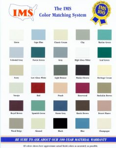 Gutter Color Chart What's New