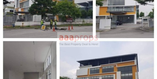 WAREHOUSE OFFICE BUILDING at KOTA DAMANSARA FOR RENT