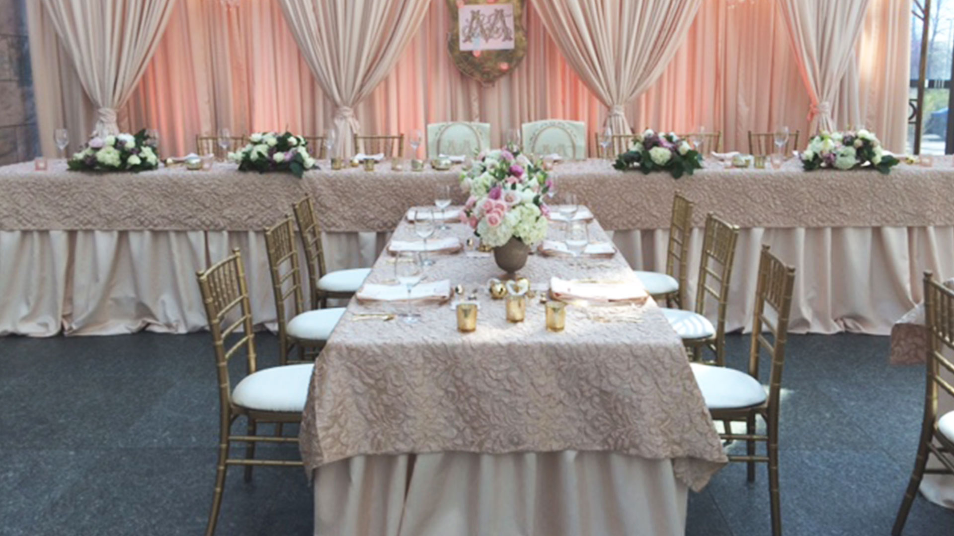 chair cover rentals bronx zero g relax the back table and chairs for wedding