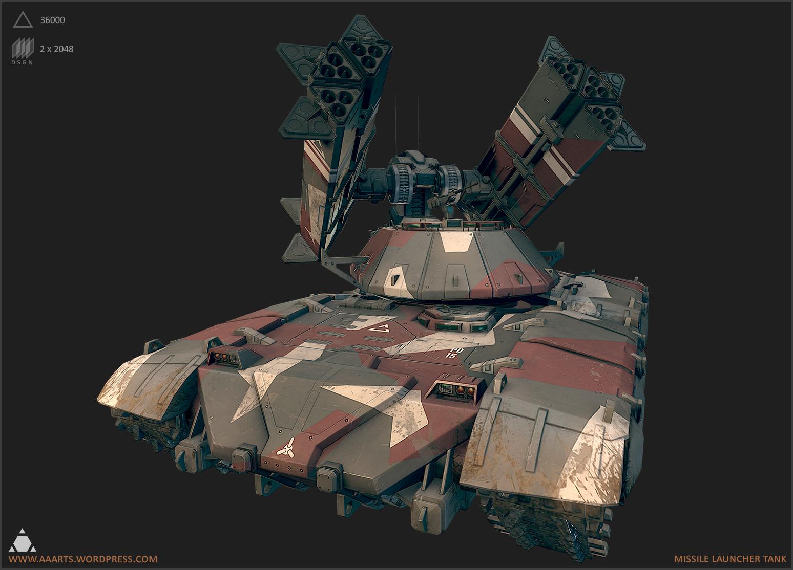 Missile Tank  The Art of Alexander Asmus