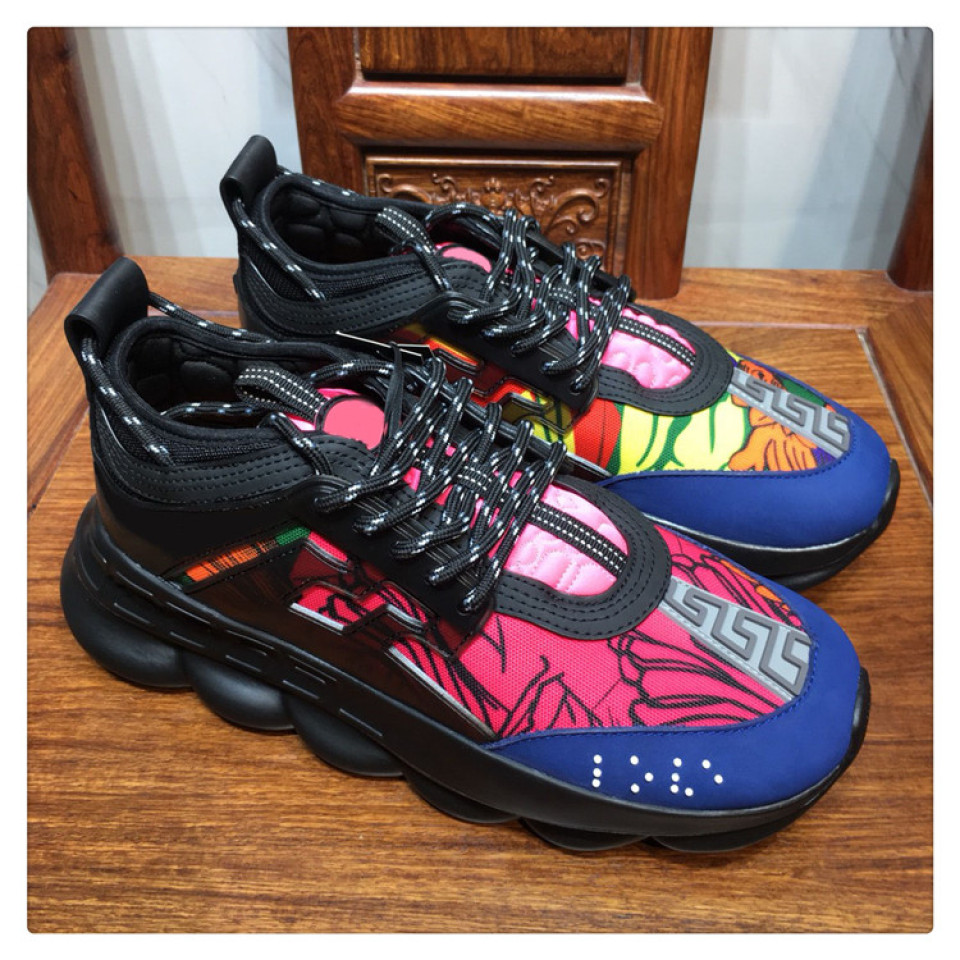 Buy Cheap Versace 2018 Shoes For Mens Or Womens Versace