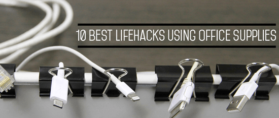 10 Best Life Hacks Using Office Supplies  Aaa Business