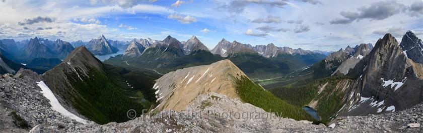 Tent Ridge Panorama View