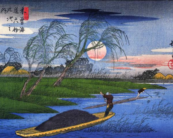Hiroshige Paintings