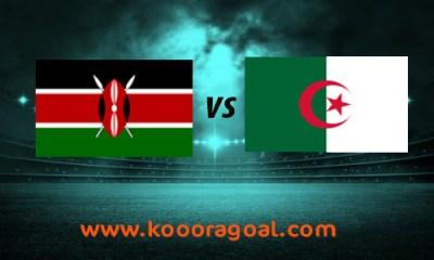 الجزائر وكينيا