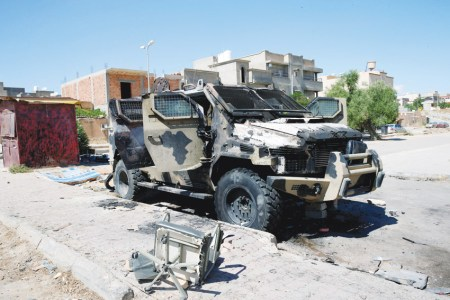 ليبيا..قوات الوفاق تصد هجوما لملشيات حفتر جنوب طرابلس