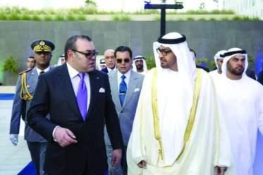 الملك يتوصل ببرقية تهنئة من ولي عهد أبوظبي بمناسبة السنة الهجرية الجديدة