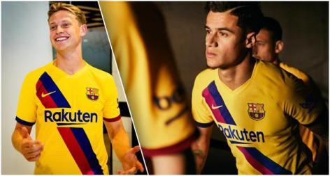 قميص بارشلونة