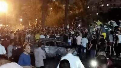 مصر: مقتل 19 شخصا في حادث تصادم نتج عنه انفجار وسط القاهرة