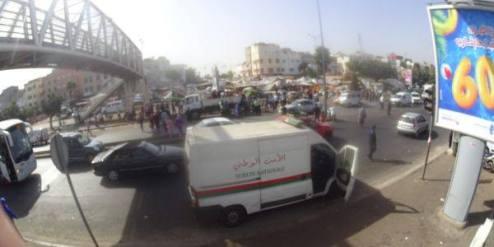 الدار البيضاء تحري الملك العمومي