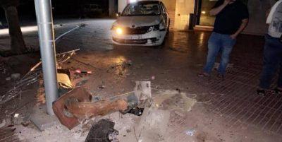 بالصور.. سائق مخمور يتسبب في خسائر مادية فادحة بحي جليز بمراكش