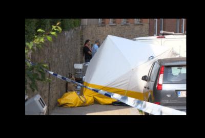 مقتل مغربي