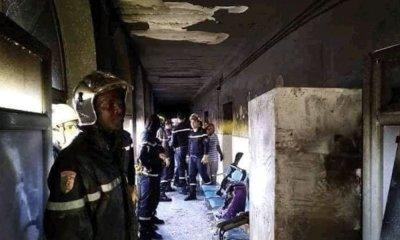 مصرع 8 رضع إثر حريق اندلع بمستشفى جزائري