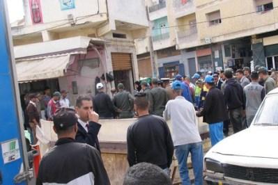سطات…اعتداء شنيع على رجل سلطة برتبة قائد من طرف بائع متجول