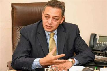 سفير مصر في المغرب أشرف إبراهيم